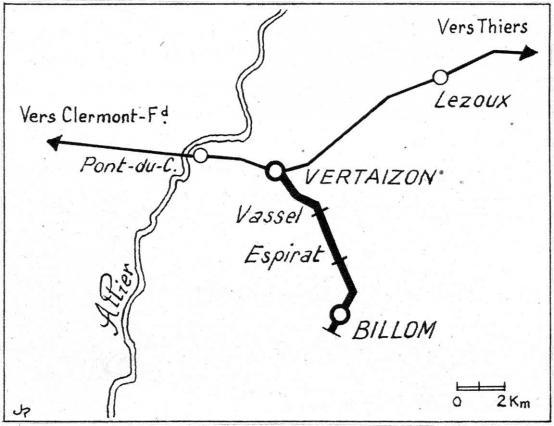 Le Billomtou en gare de Vertaizon