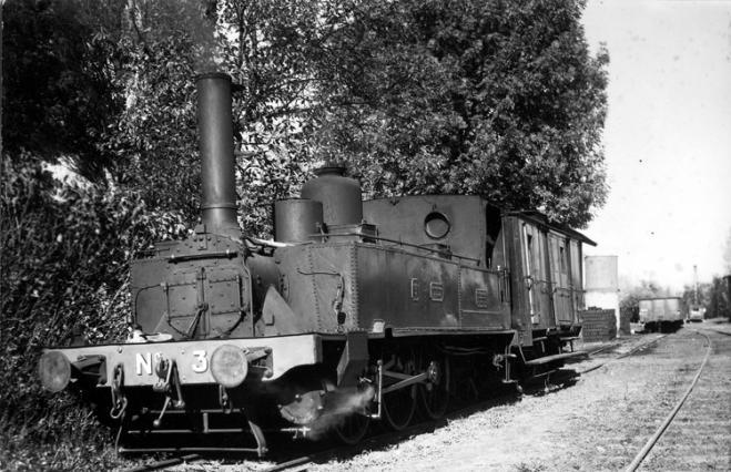 Le billomtou, la locomotive
