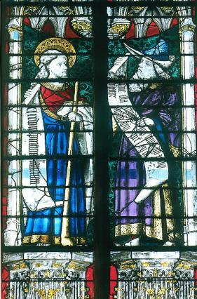Prophète et apôtre, verrières, Sainte-Chapelle