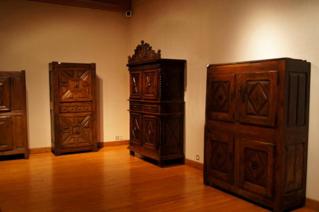 Anciens appartements – salle du mobilier