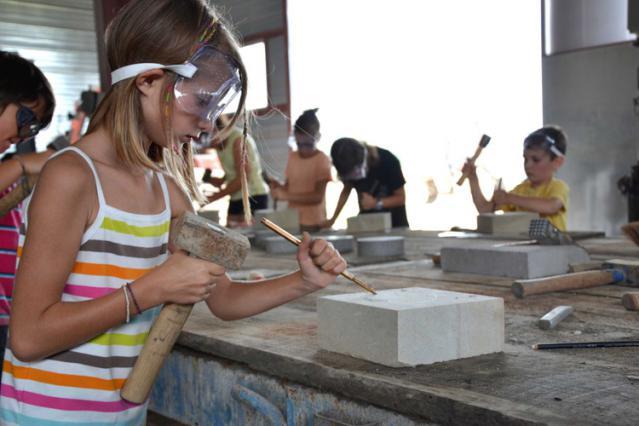 Atelier taille de pierre