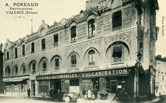 Vue ancienne de la Maison mauresque. Coll. Jacques Benevise