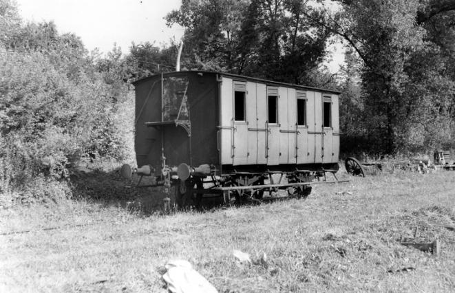 Le billomtou, un wagon voyageur