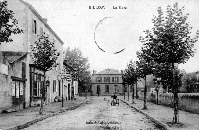 Perspective de la gare de Billom