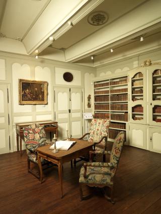 Salle d'étude ou bibliothèque d'Alfred Douët
