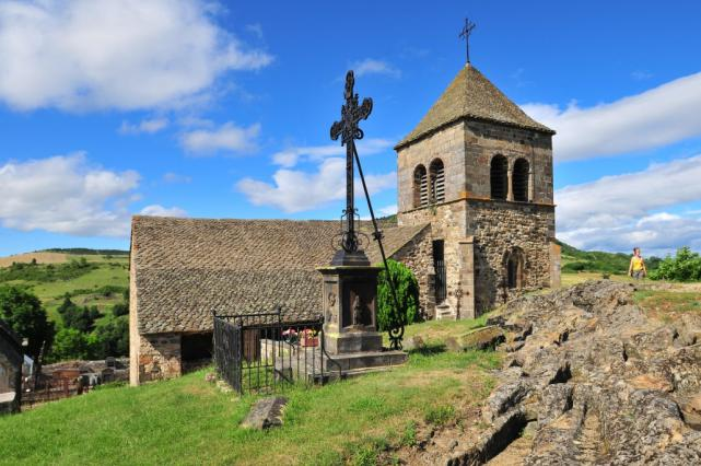 Église du Chastel à Saint-Floret