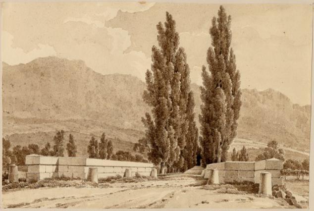 Avenue du Grand Port, album Castellan, 1828