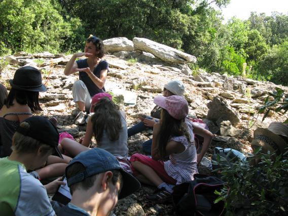 Atelier dolmens et paysages