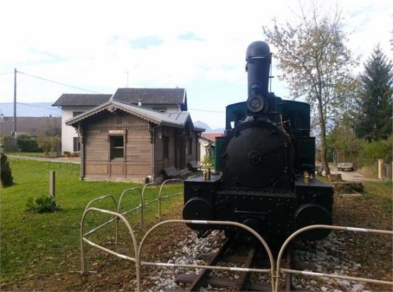Gare à crémaillère de Mouxy, 2015