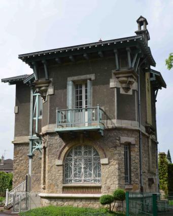 La maison du gardien du parc Jouvet