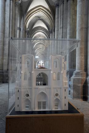 Maquette pédagogique de l'ancienne cathédrale Saint-Maurice