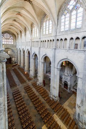 Nef de l'ancienne cathédrale Saint-Maurice