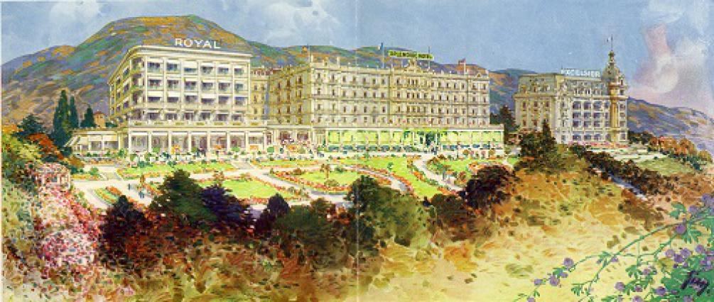 Façades des anciens palaces Splendide et Royal, 2015