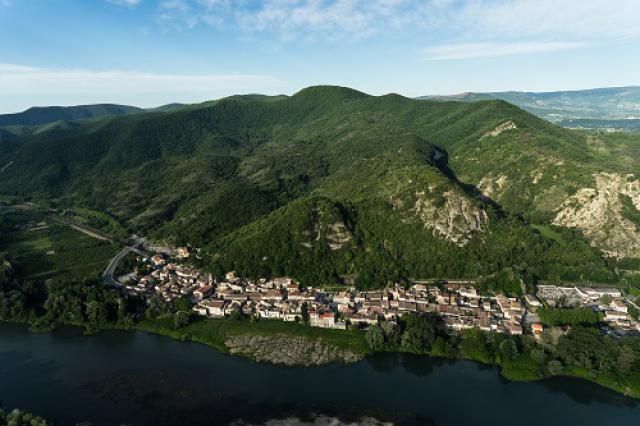 Le Rhône à Baix