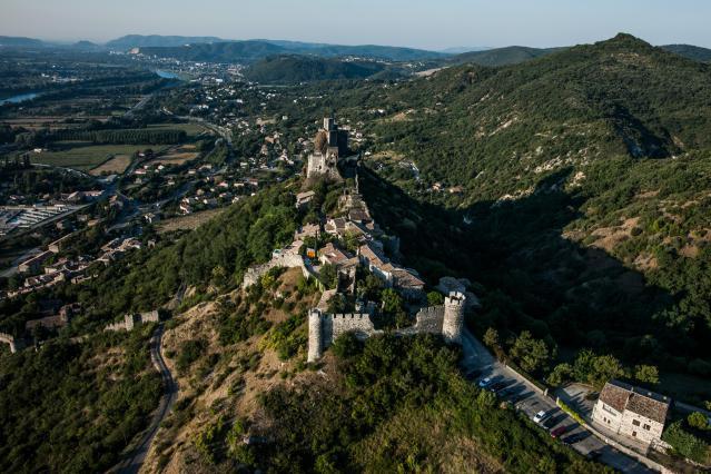 Rochemaure et la vallée du Rhône