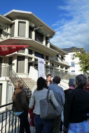 Visite guidée de l'Ecole maternelle du Centre Robert Bruyère par icmArchitectures, Journées européennes du patrimoine 2015