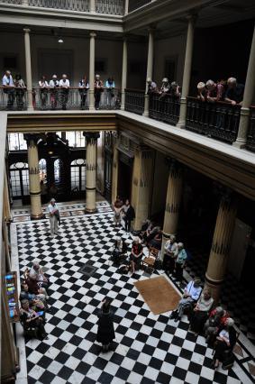 Visite guidée du Grand Hôtel, ancien palace aixois, Journées européennes du patrimoine 2009