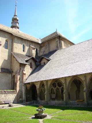 Cloitre et église abbatiale d'Abondance