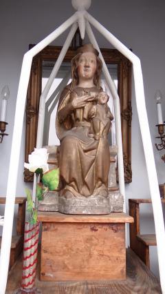 Vierge Notre-Dame de la Délivrance, rue Sirmond, Riom