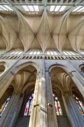 Voûtes de l'ancienne cathédrale Saint-Maurice