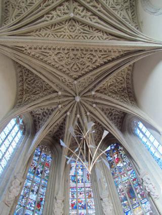 Trompe l'oeil de la Sainte-Chapelle