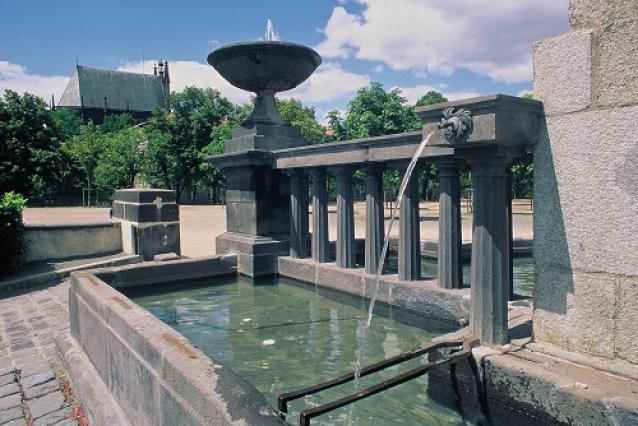 Fontaine Desaix, Riom