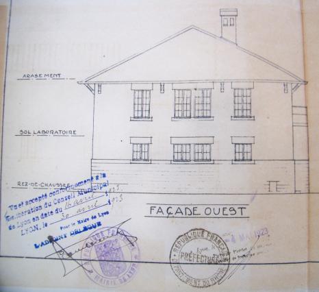 Laiterie plan de 1920