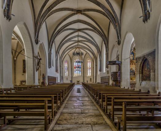 Annecy, église Saint-Maurice, intérieur