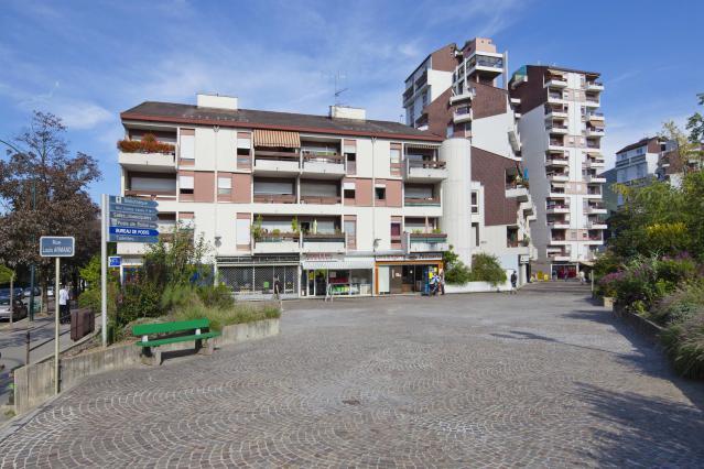 Annecy, quartier de Novel, centre, rue Louis-Armand, 1971-1980, Jacques Lévy, architecte