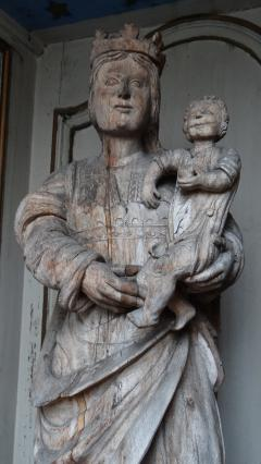 Vierge Notre-Dame de septembre, rue Gomot, Riom