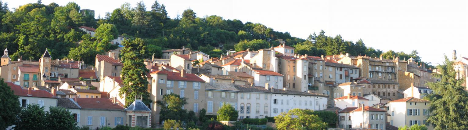 Vue sur la vieille ville